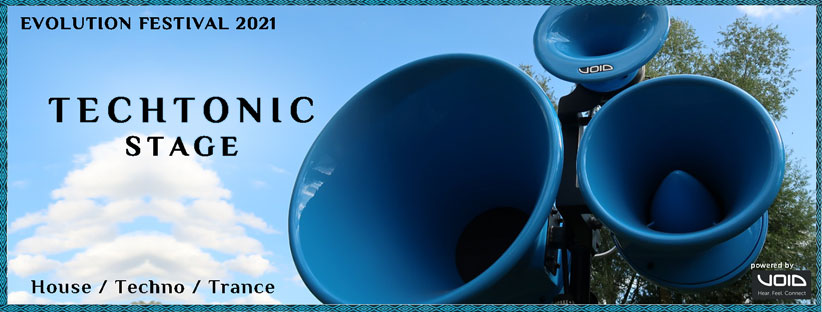 Techtonic-Stage Banner